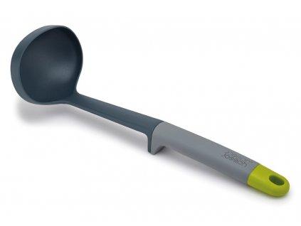 Naberačka z nylonu so sivou rukoväťou Elevate™ Nylon Joseph Joseph