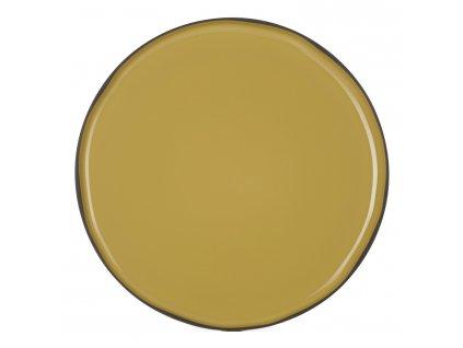Servírovací tanier okrúhly kari Tumeric CARACTERE REVOL