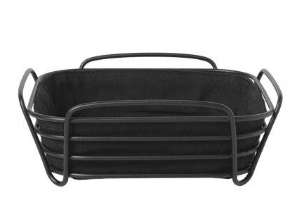 Košík na pečivo Delara Blomus veľký čierny