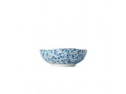 Stredná miska Blue Daisy 17 cm