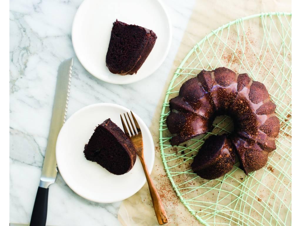 Nordic Ware Forma na bábovku Anniversary zlatá 1,4 l