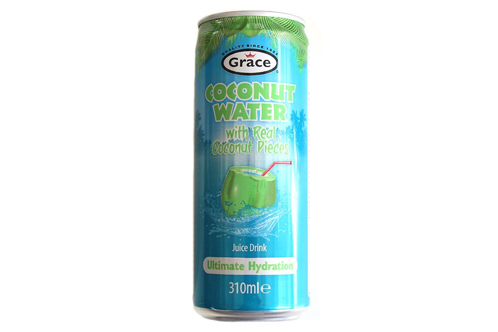 Kokosová voda s kúskami kokosu Grace 310 ml