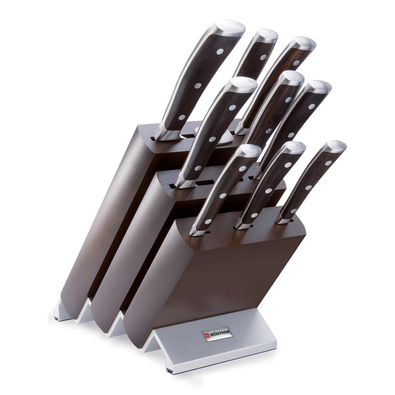 Wüsthof IKON Blok s nožmi - 9 ks