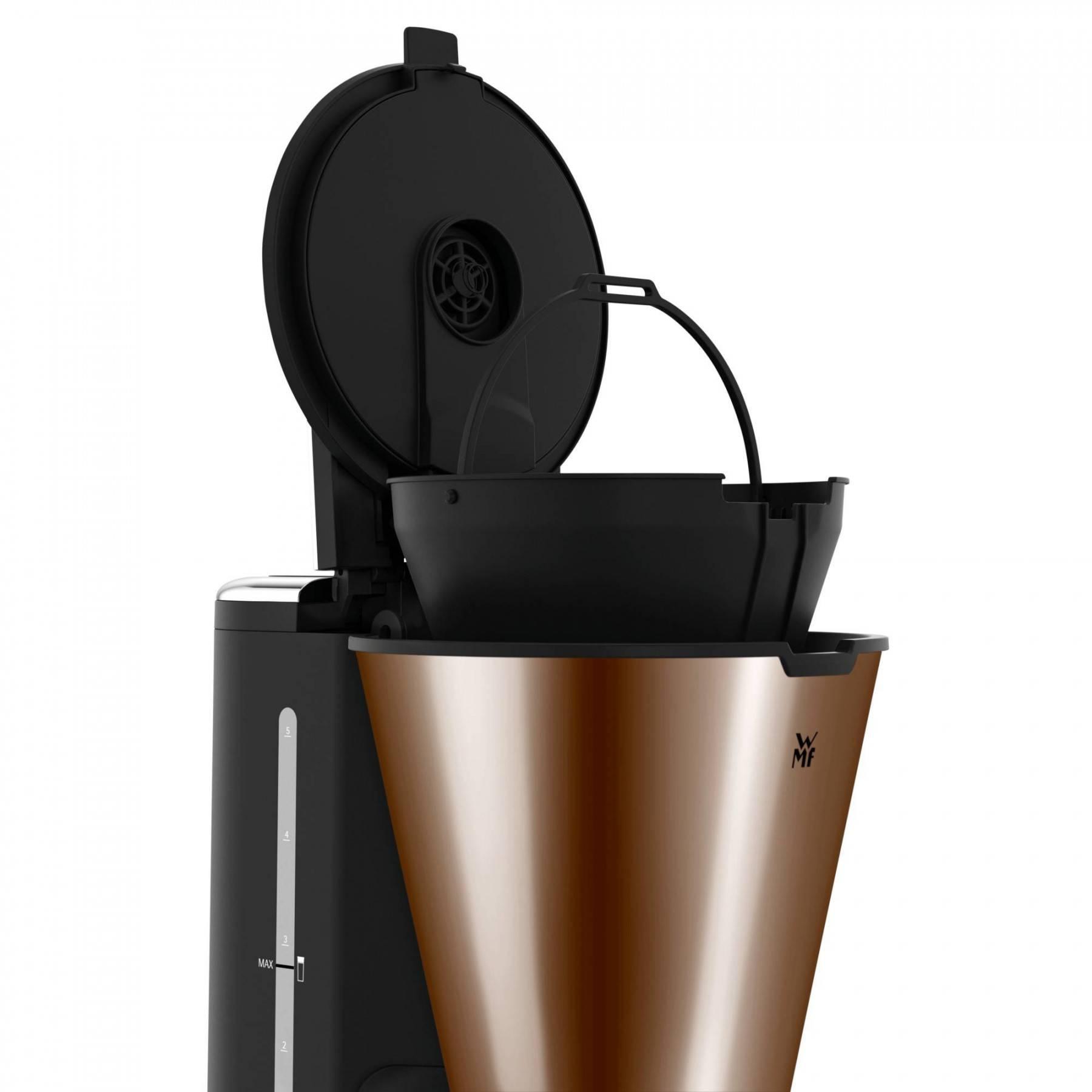 Kávovar na filtrovanú kávu Aroma Thermo to go KITCHENminis WMF meď