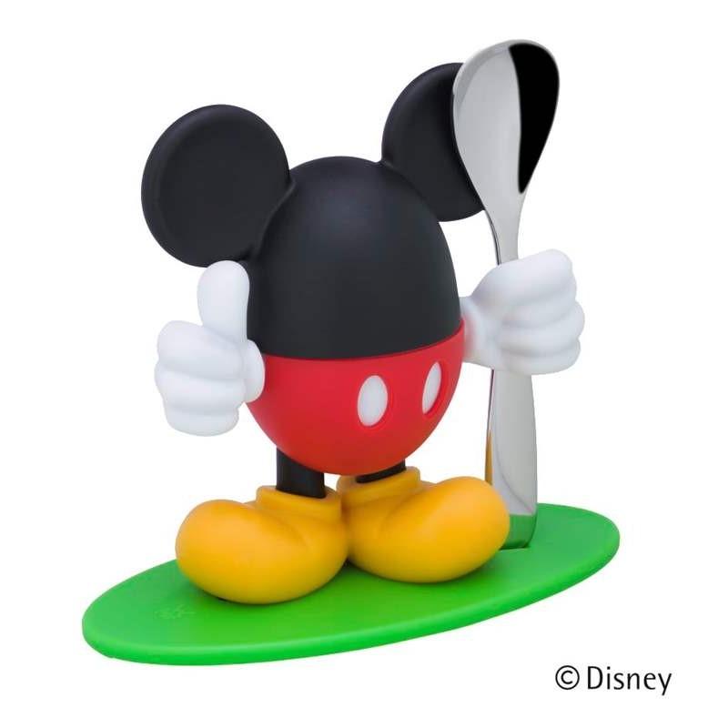Stojan na vajíčko s lyzičkou McEgg Mickey Mouse WMF