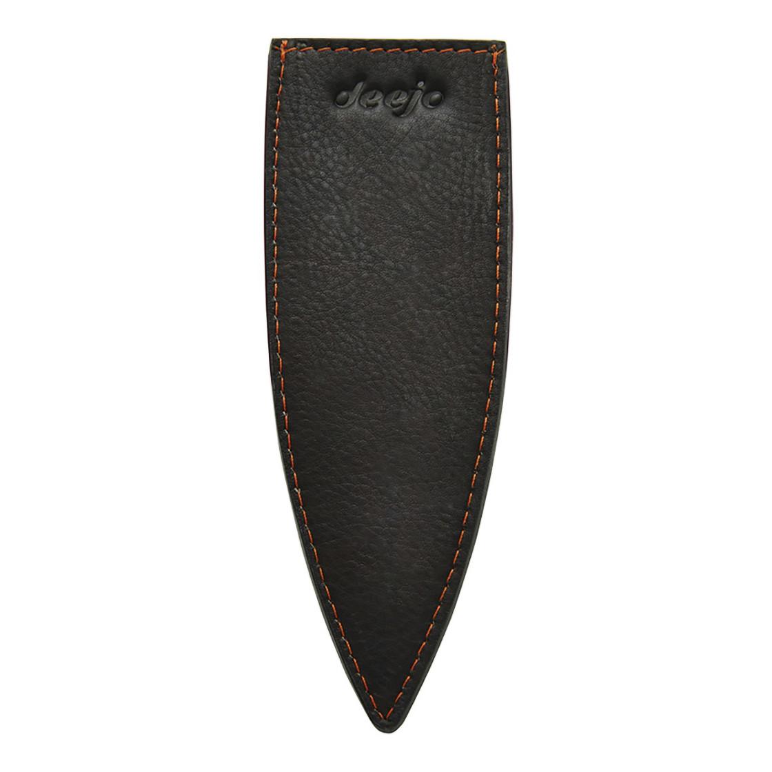 Kožené púzdro pre nože Deejo 37 g hnedá mocca