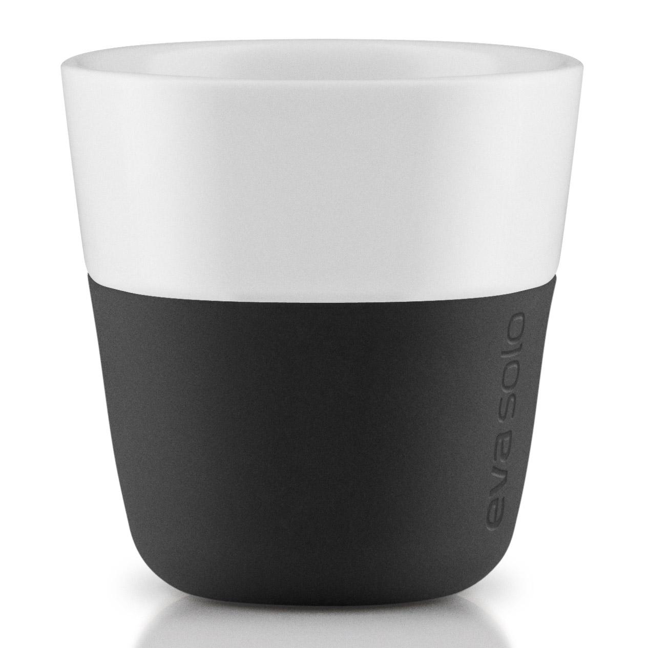 Termošálky na espresso 80 ml 2 kusy karbónovo čierna Eva Solo