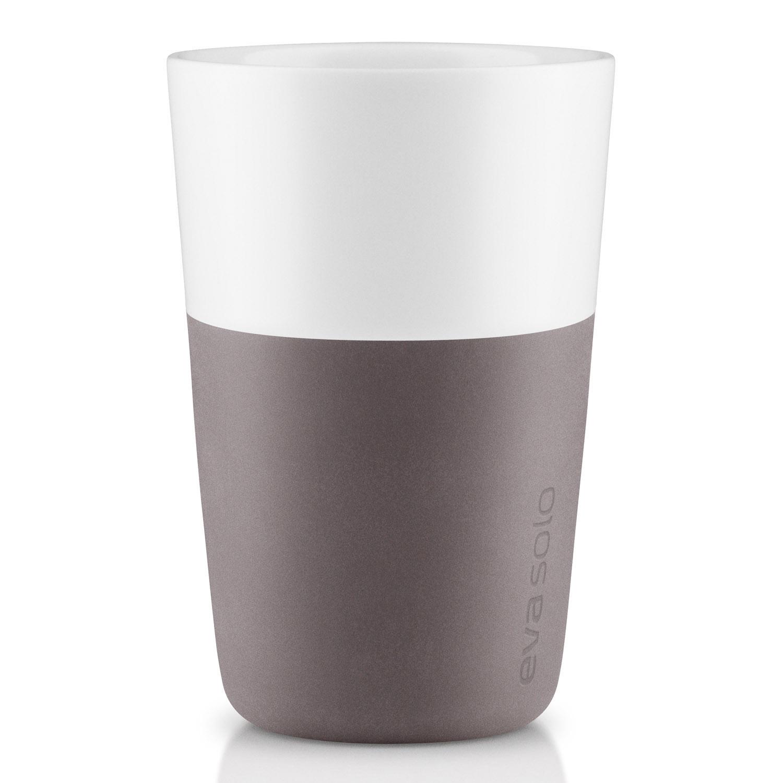Termohrnčeky na café latte 360 ml 2 kusy sivé Eva Solo