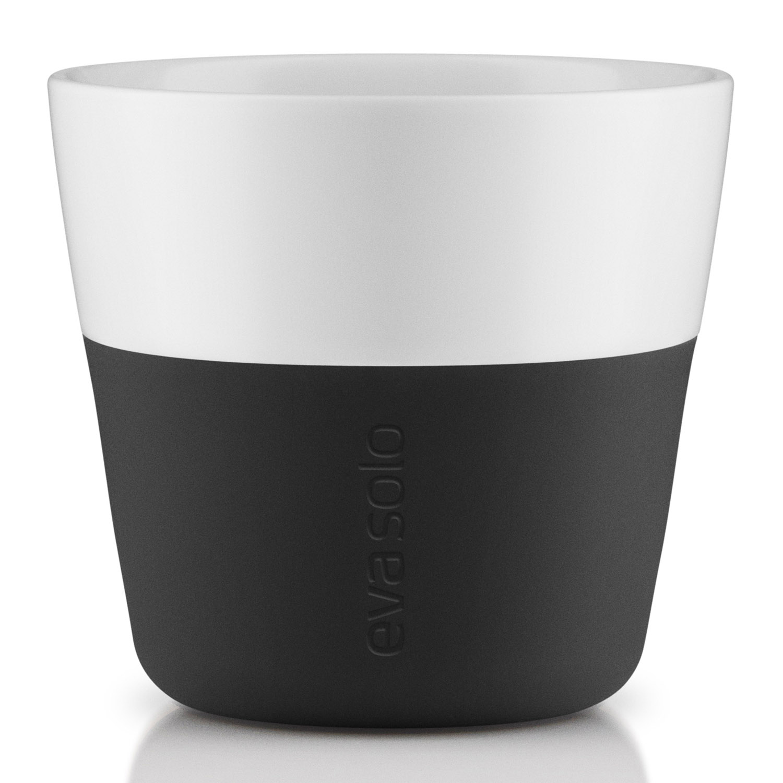 Termohrnčeky na kávu Lungo 230 ml 2 kusy karbónovo čierne Eva Solo