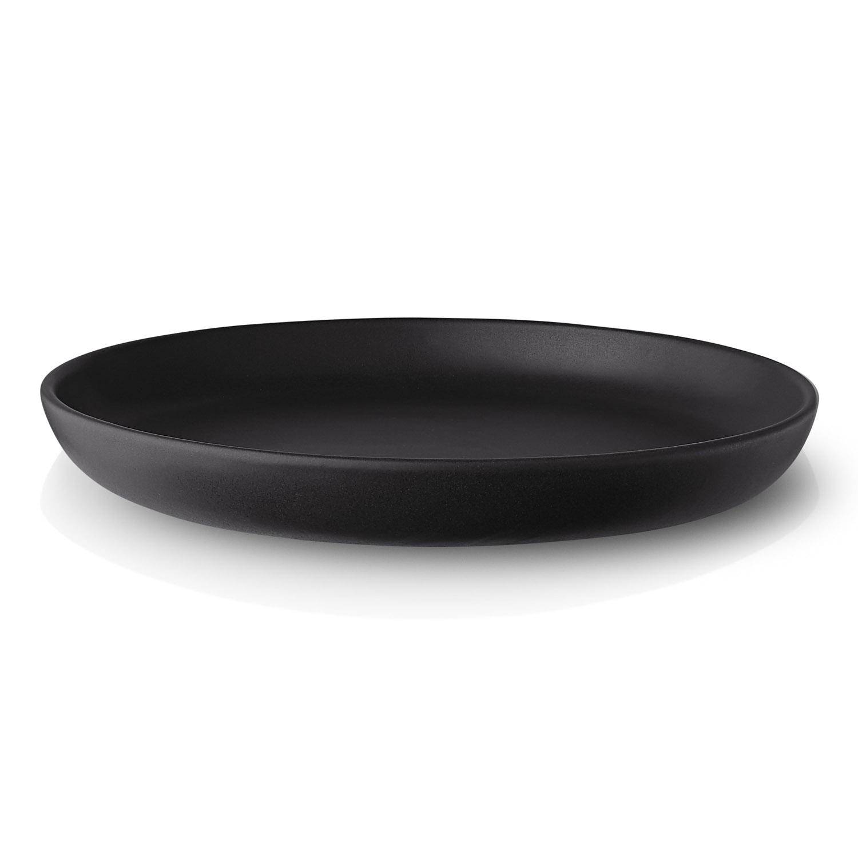 Tanier jedálenský Nordic kitchen Ø 25 cm čierny