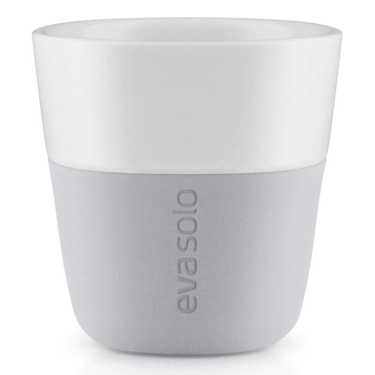 Termošálky na espresso 80 ml 2 kusy svetlosivé Eva Solo