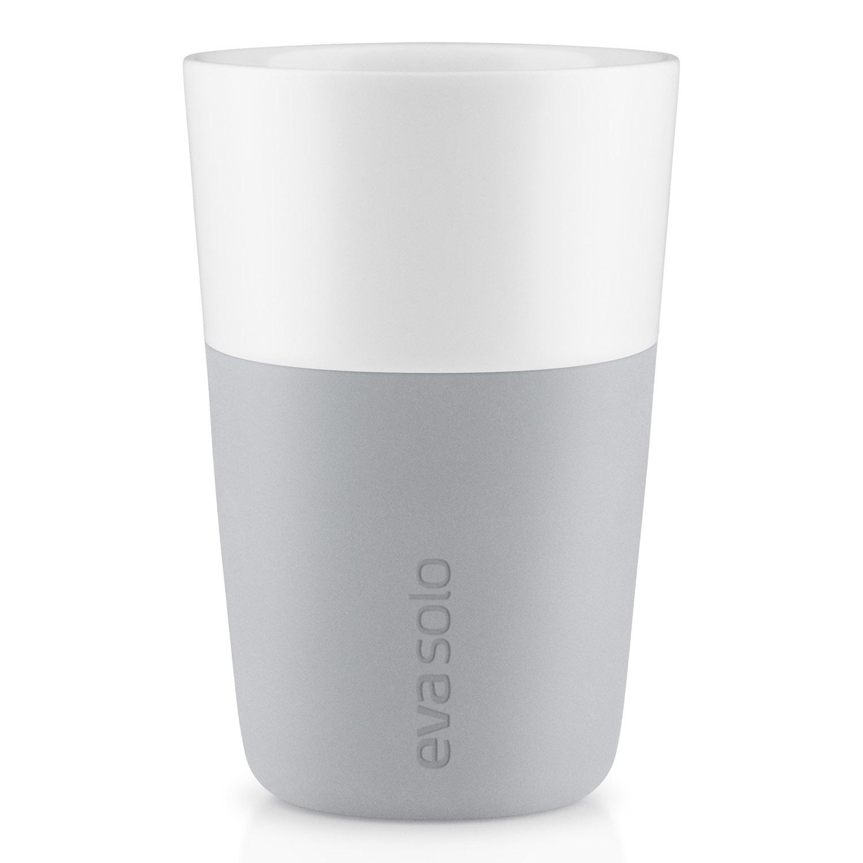 Termohrnčeky na café latte 360 ml 2 kusy svetlosivé Eva Solo