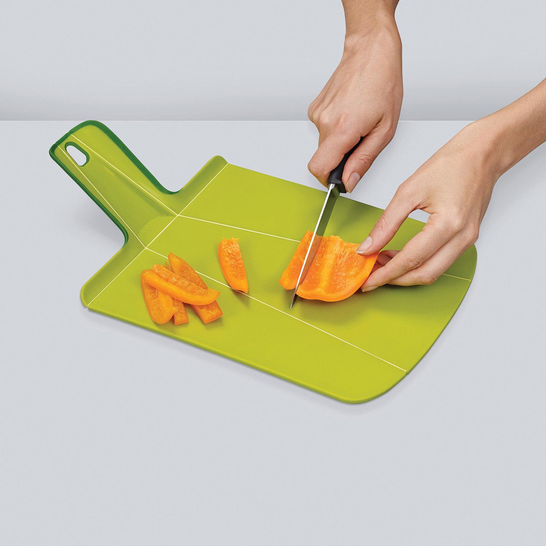 Skladacia doska na krájanie zelená Chop2Pot™ Small Joseph Joseph