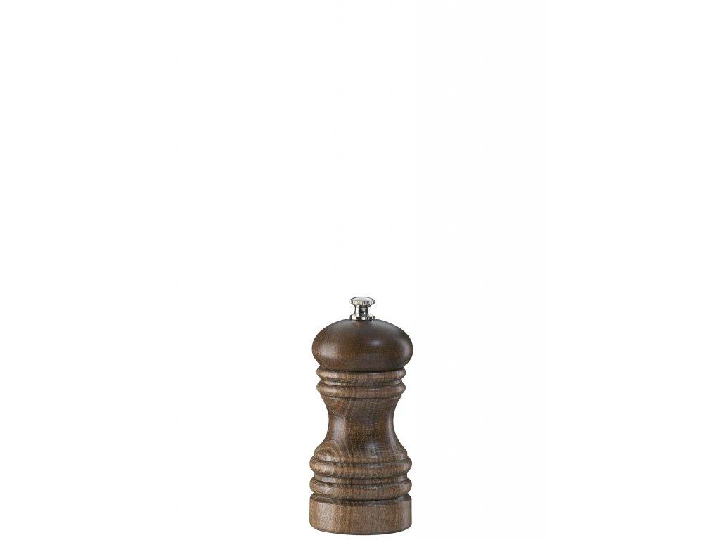Mlynček na soľ Berlin Zassenhaus drevený 12 cm