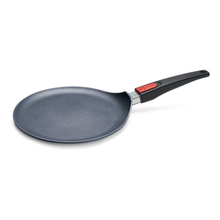 Titánová indukčná panvica na palacinky Ø 26 cm s odnímateľnou rukoväťou Diamond Lite