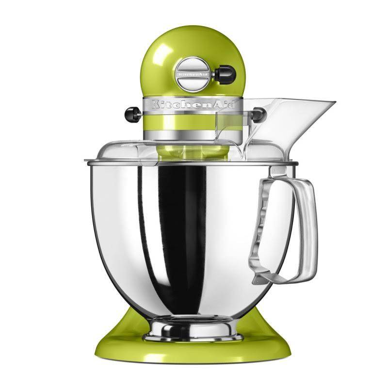 Kuchynský robot KitchenAid Artisan 5KSM175 zelené jablko Varianta: Robot KitchenAid 5KSM175 + Kovový mlynček na mäso 5KSMMGA