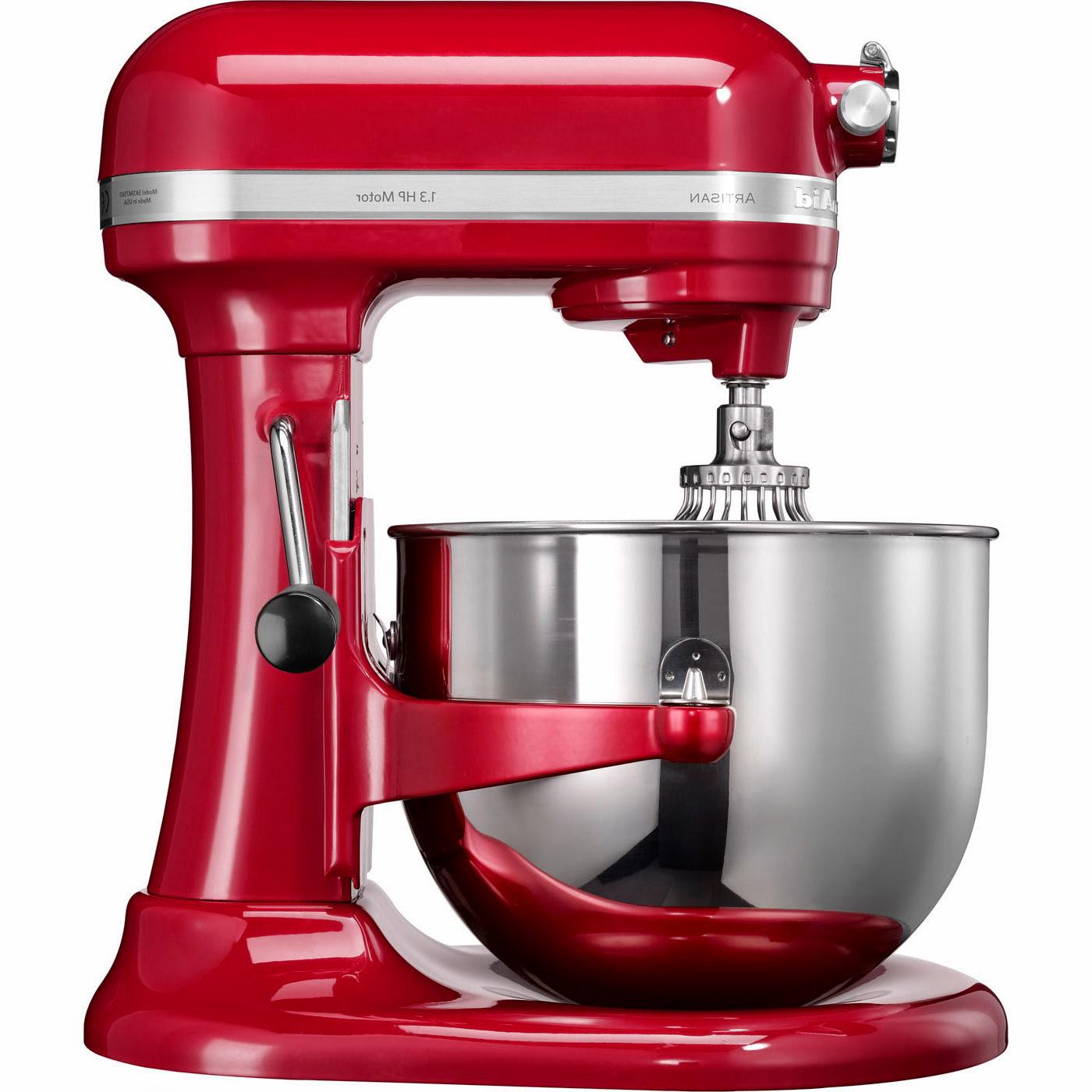 Kuchynský robot KitchenAid Artisan 5KSM7580 kráľovská červená