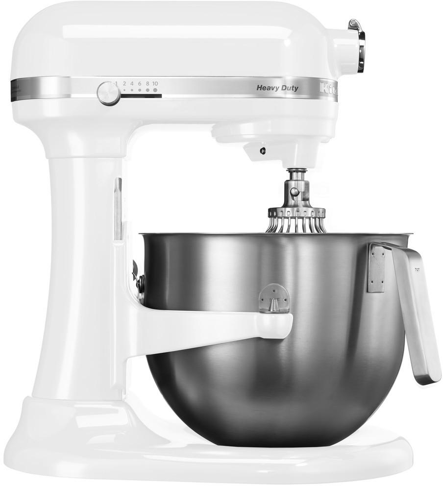 Robot Heavy Duty KitchenAid 5KSM7591 biela Nerezová misa KitchenAid 6,9 l ZADARMO!
