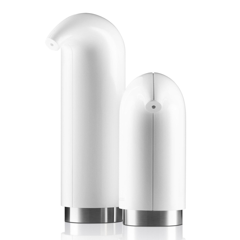 Súprava dávkovačov na mydlo a tekutý krém biela 2 kusy