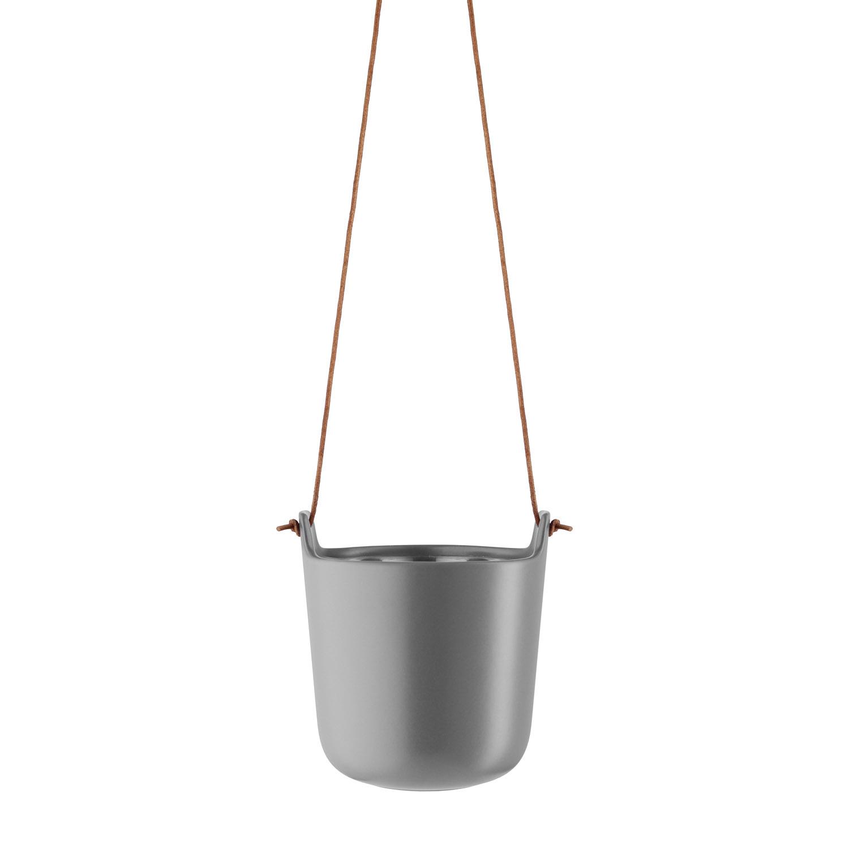 Samozavlažovací závesný kvetináč Ø 15 cm nordic grey Eva Solo