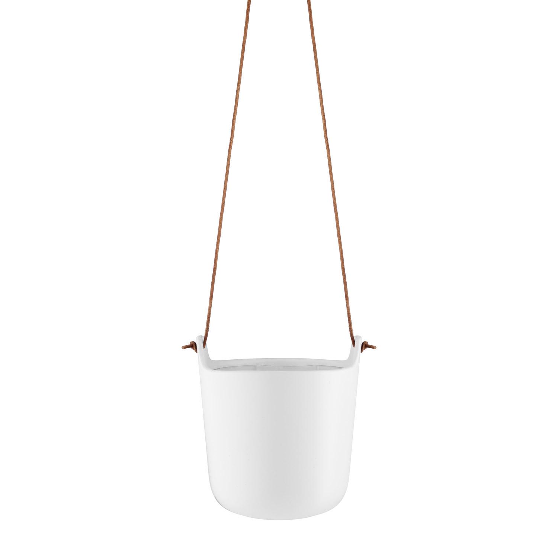 Samozavlažovací závesný kvetináč Ø 15 cm kriedovobiely Eva Solo