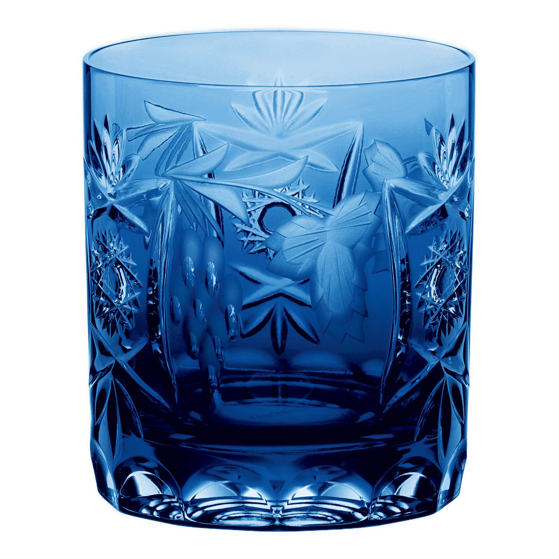 Pohár na whisky Cobalt Blue Traube