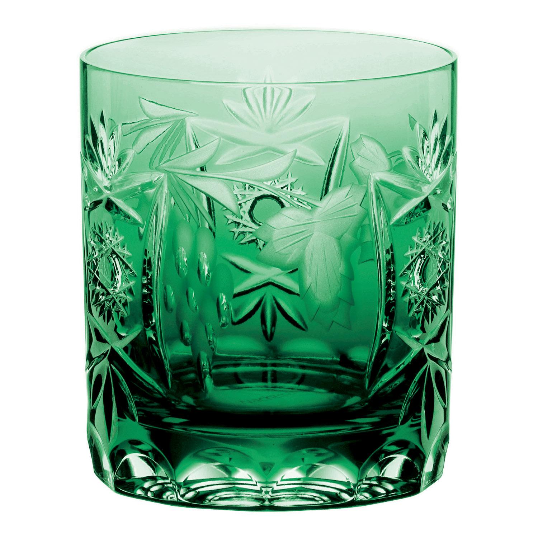 Pohár na whisky Emerald Green Traube