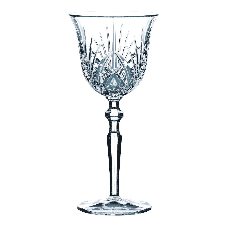 Súprava 6 pohárov na biele víno Palais