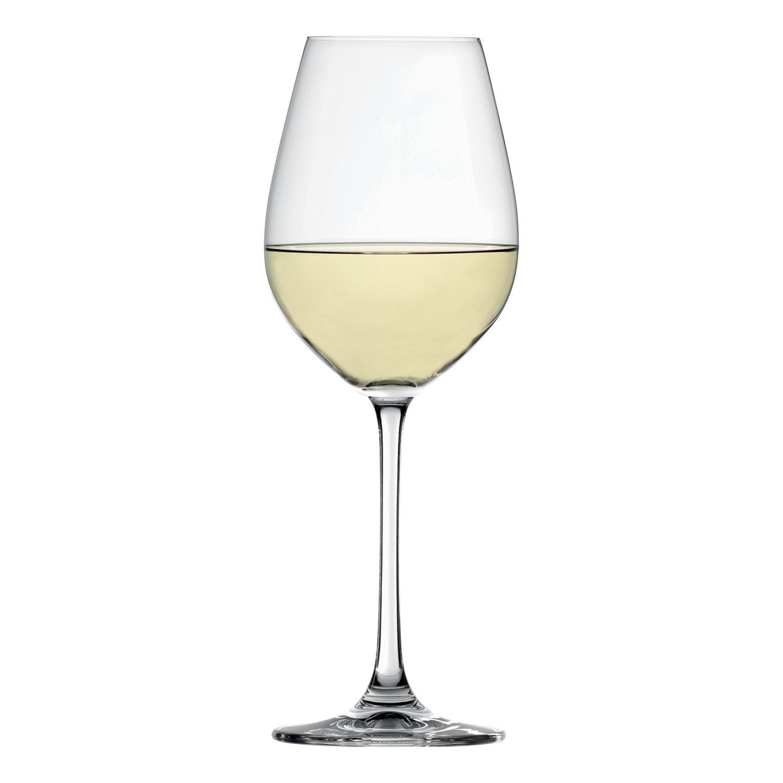 Súprava 4 pohárov na biele víno Salute
