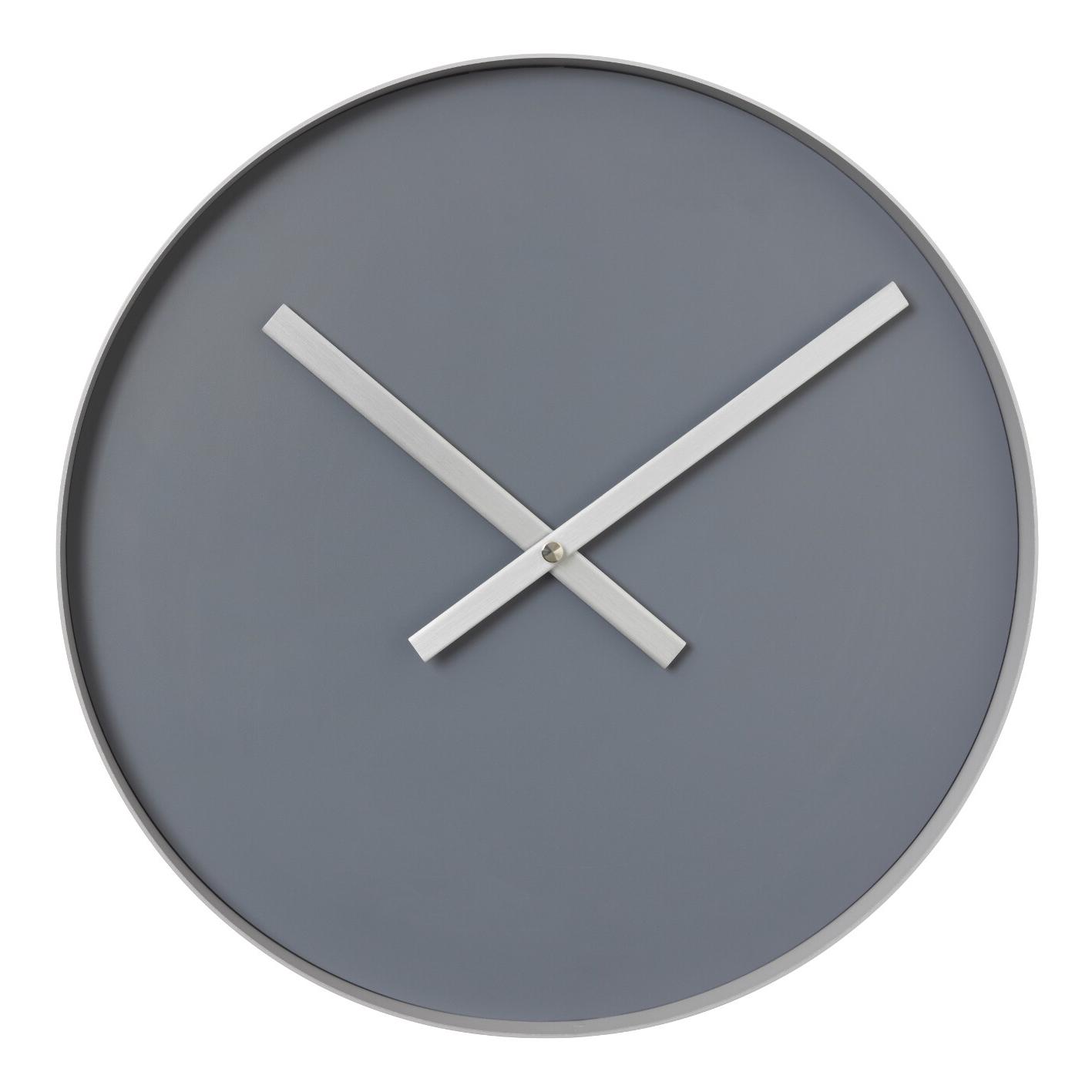 Nástenné hodiny RIM veľké sivé