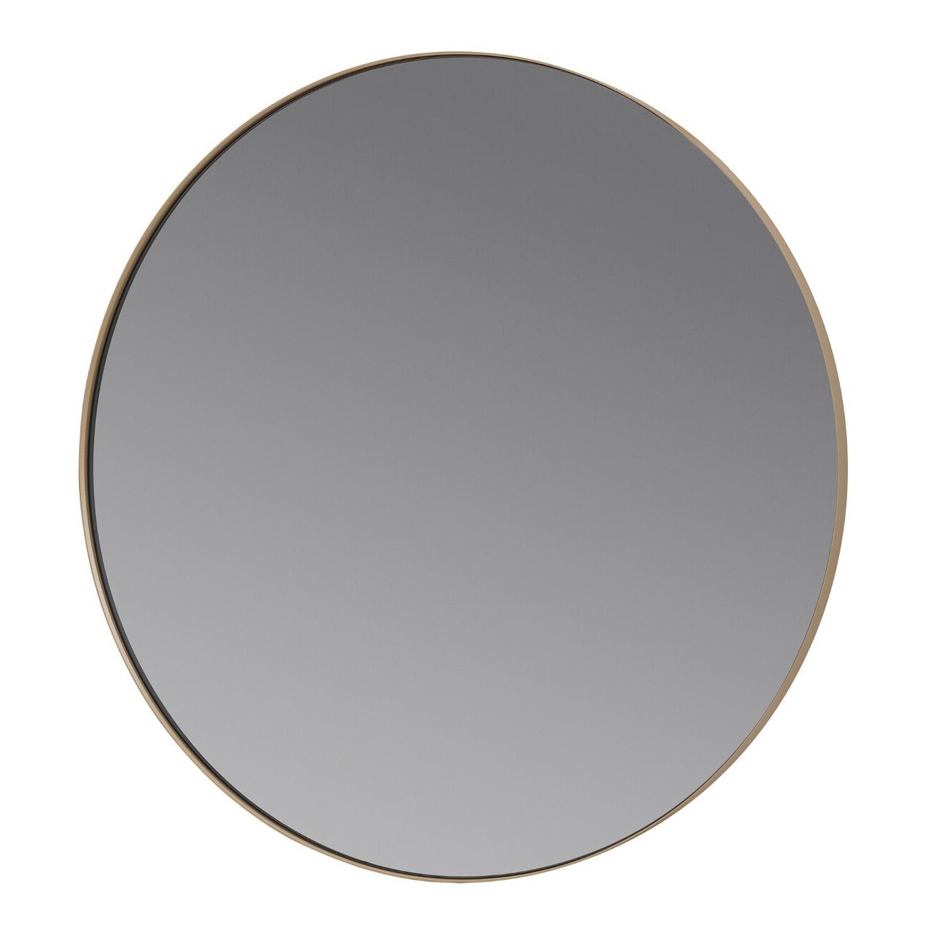 Okrúhle zrkadlo RIM svetlohnedé Blomus