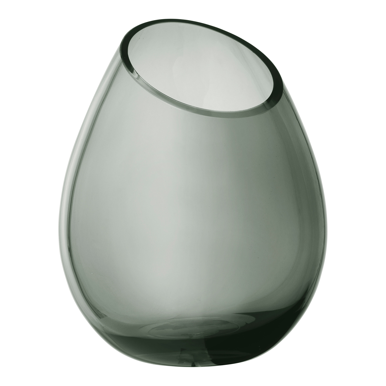 Váza 24 cm DROP dymové sklo Blomus