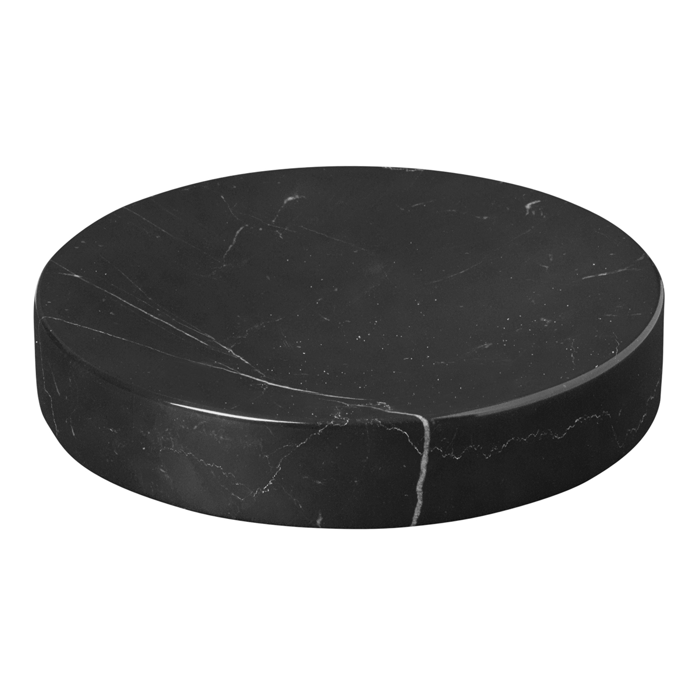 Podložka / tanierik mramorový malý PESA čierny