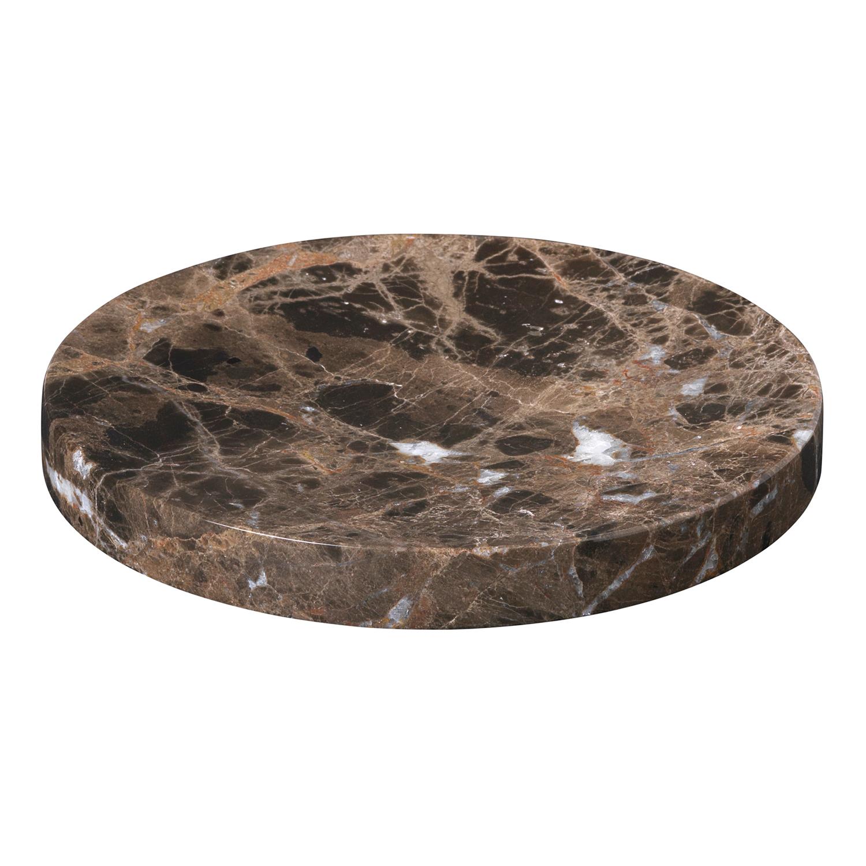 Podložka / tanierik mramorový stredný PESA hnedý