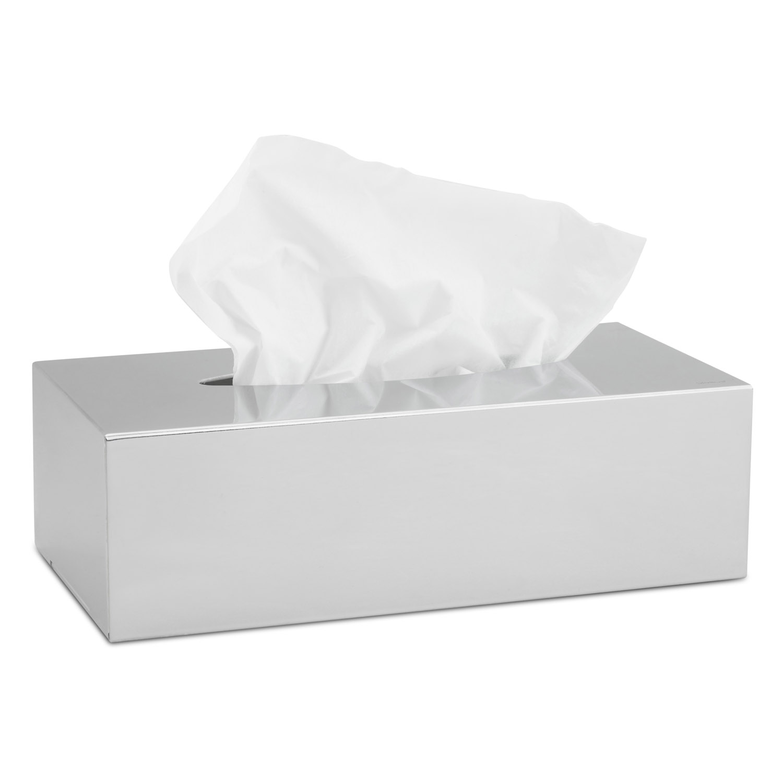 Box na papierové vreckovky leštená nehrdzavejúca oceľ NEXIO
