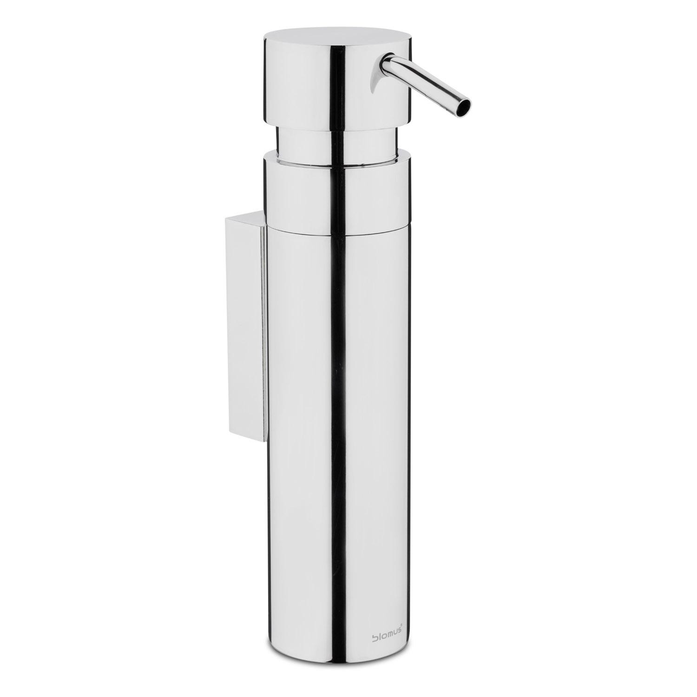 Nástenný dávkovač tekutého mydla leštená nehrdzavejúca oceľ 100 ml NEXIO