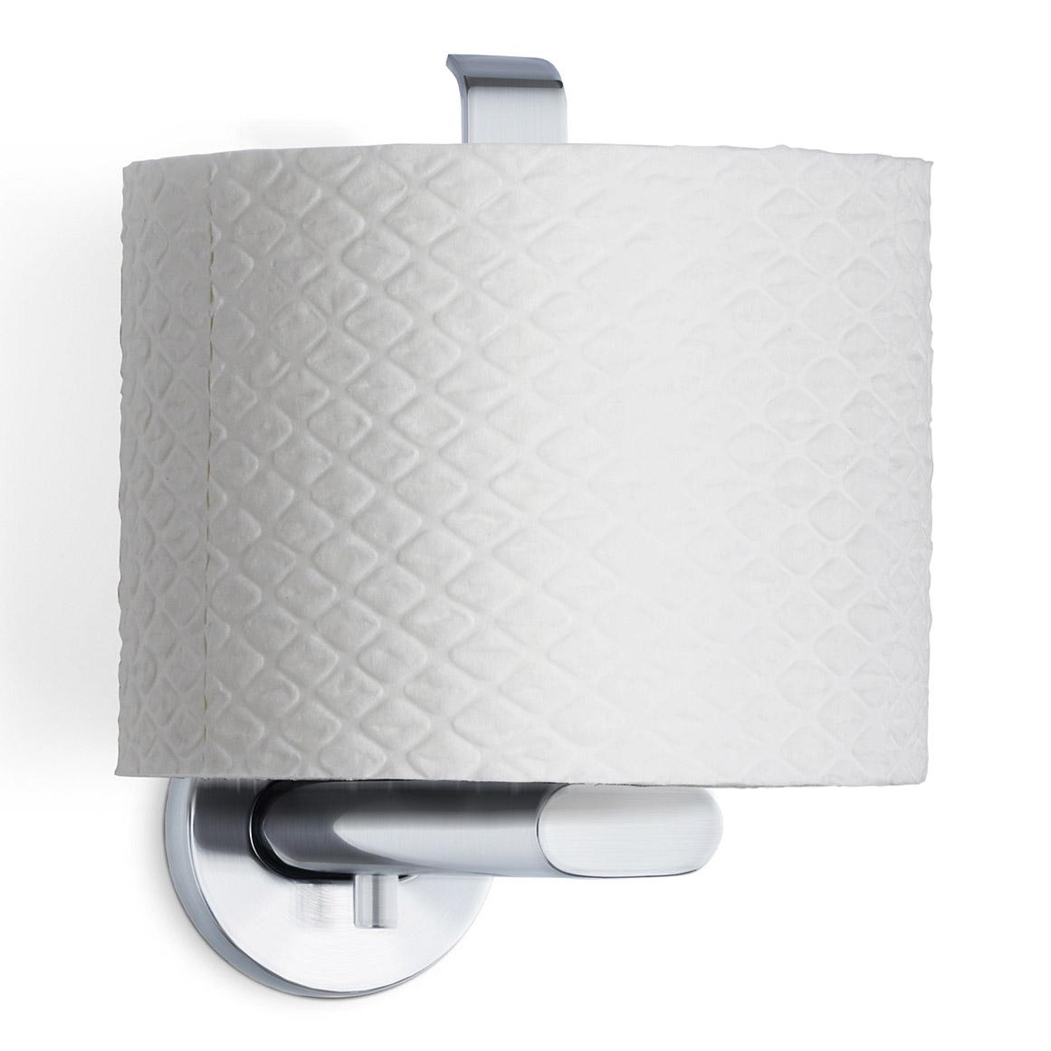 Držiak toaletného papiera matná nehrdzavejúca oceľ AREO zvislý