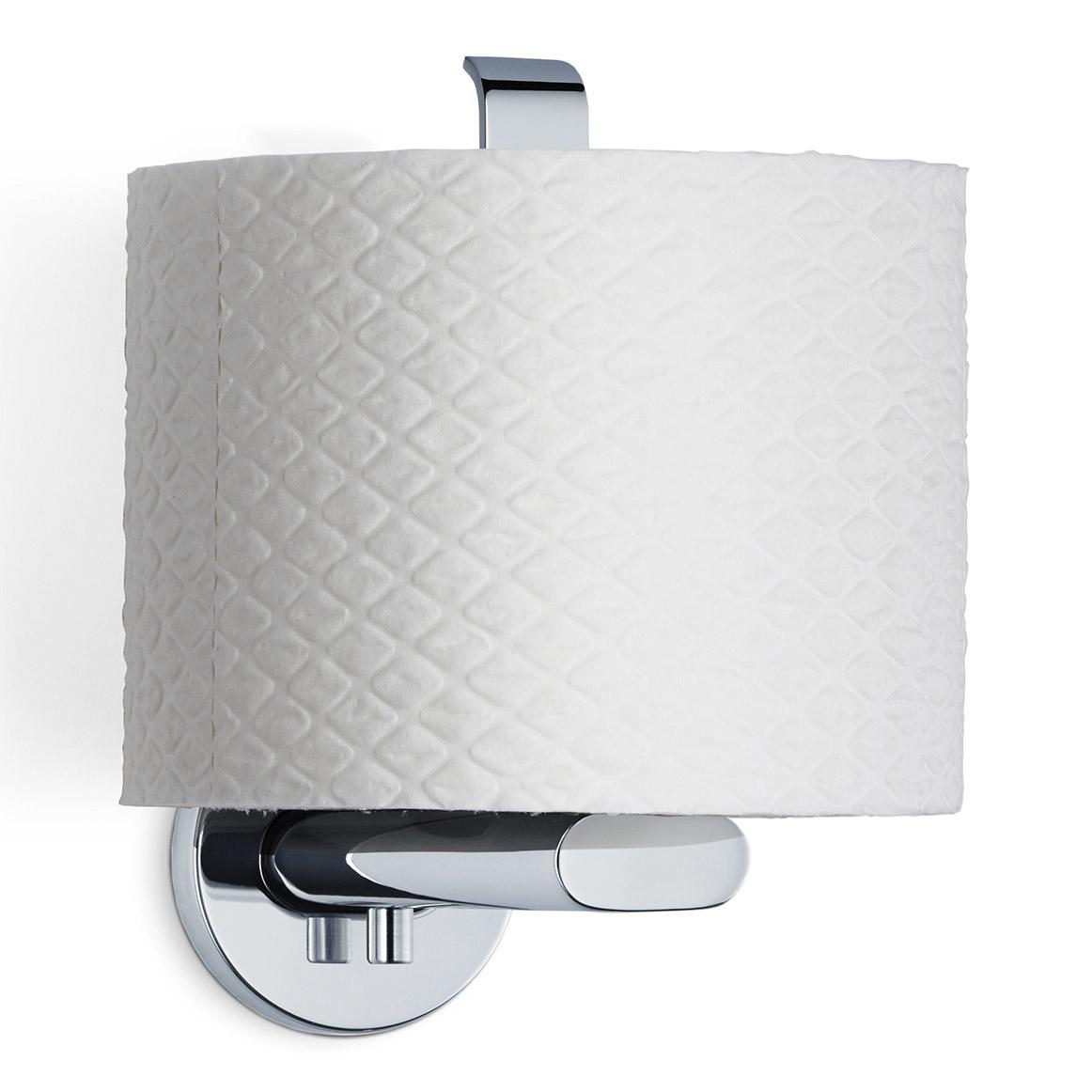Držiak toaletného papiera leštená nehrdzavejúca oceľ AREO zvislý
