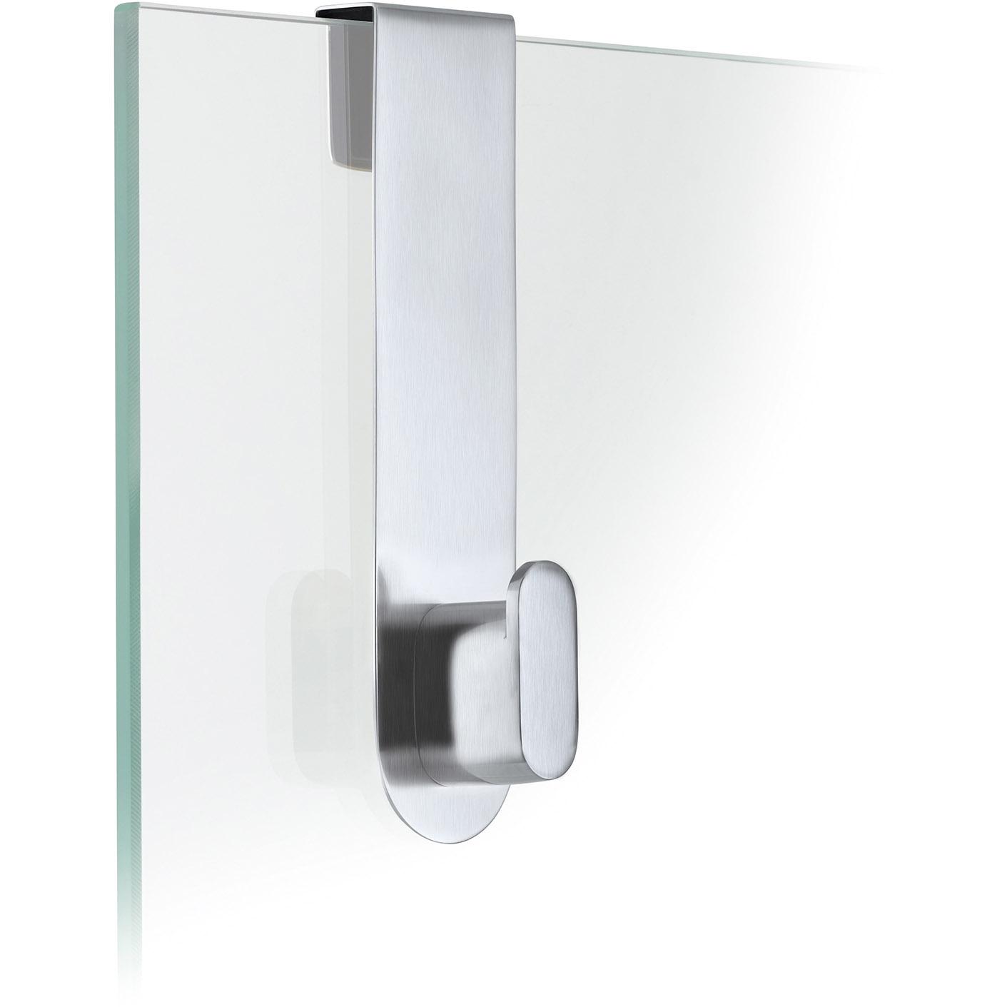 Háčik na sklenené dvere matný AREO
