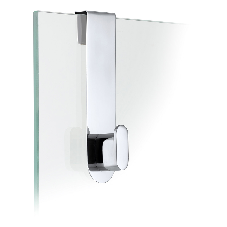 Háčik na sklenené dvere leštený AREO