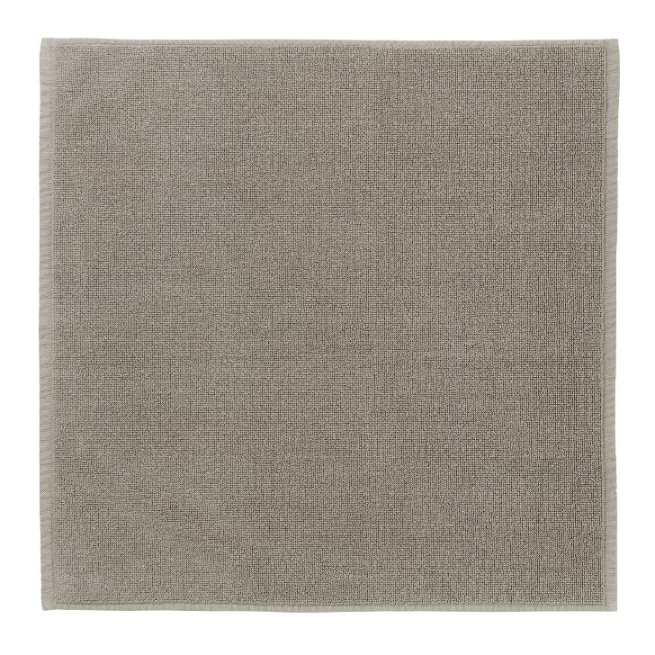 Kúpeľňová predložka PIANA 55 x 55 cm sivohnedá Blomus