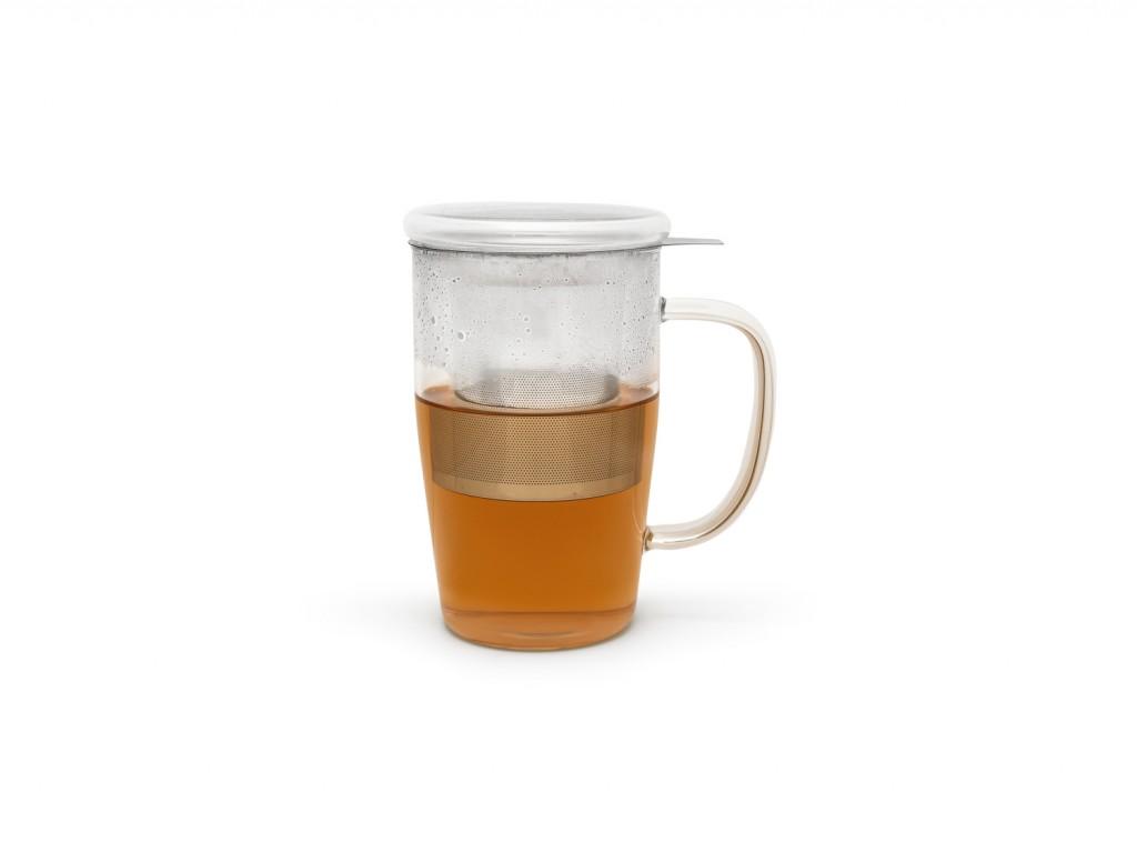 Hrnček na čaj s filtrom a vekom Veneto Bredemeijer 530 ml