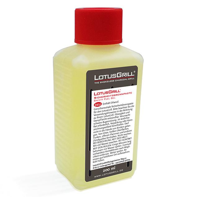 Gelový podpaľovač LotusGrill 200 ml