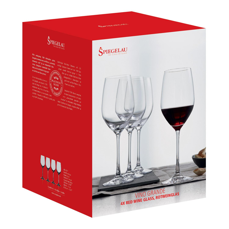 Súprava 4 pohárov na červené víno Vino Grande Spiegelau