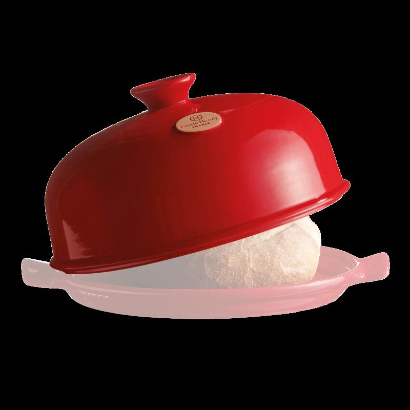 Náhradná vrchná časť formy na pečenie chleba červená Burgundsko Emile Henry