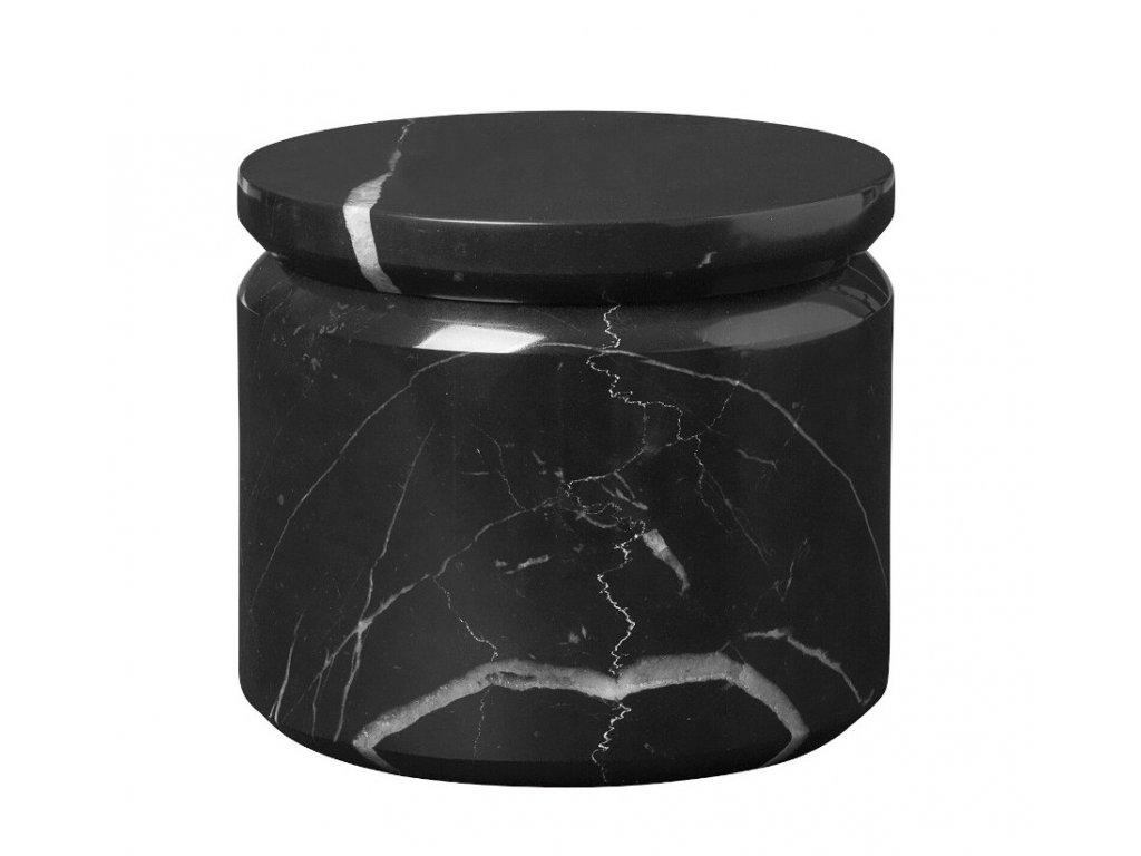 Mramorová dóza Pesa Blomus čierna