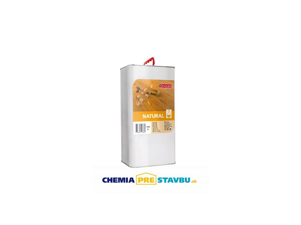 Synteko Natural 1l, 5l - alkydový olej bez obsahu rozpúšťadiel na drevené podlahy