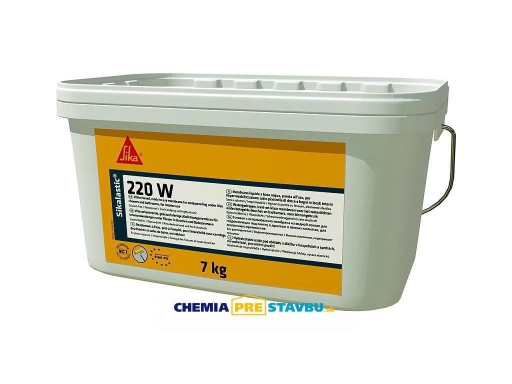 Sikalastic-220 W, 7kg - hydroizolačný náter na vodnej báze