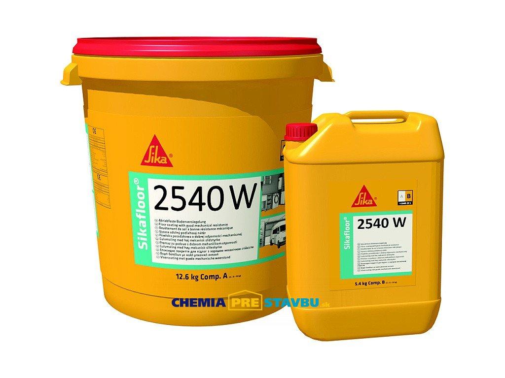 Sikafloor 2540 W - farebný epoxidový podlahový náter