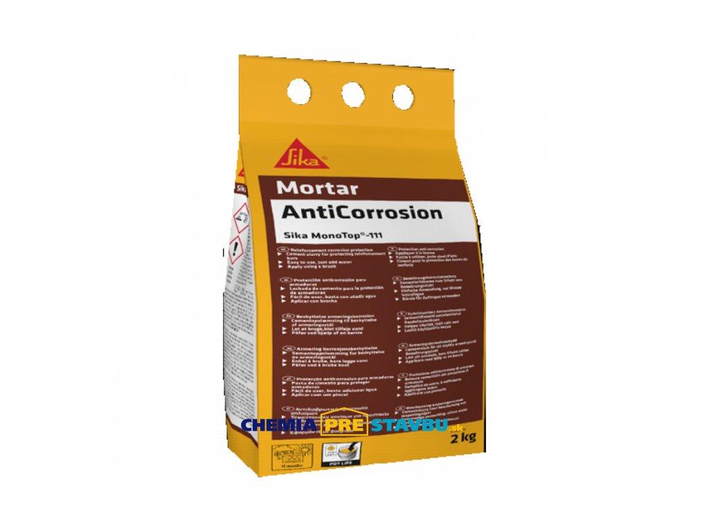 Sika MonoTop -111 AntiCorrosion 2kg - ochrana výstuže / adhézny mostík